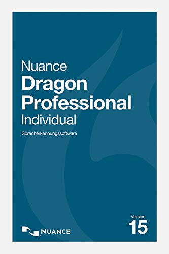 Nuance Dragon Professional Individual 15 - Vollversion | PC | PC Aktivierungscode per Email