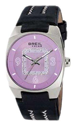 Breil Tribe TW0503 - Reloj de Mujer de Cuarzo, Correa de Piel Color Negro