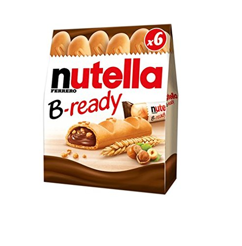 72x Ferrero Nutella B-Ready Chocolate Snack Biscuits Cookies (12x6)