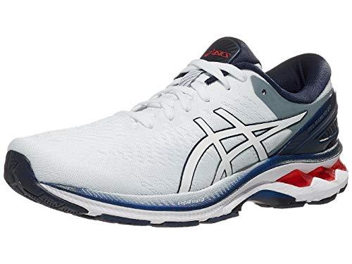 ASICS Men's Gel-Kayano 27 Running Shoes, 11, White/Peacoat