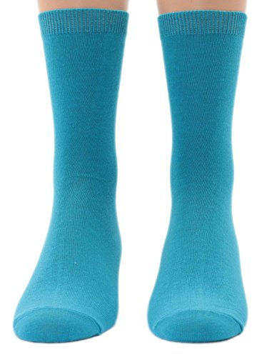 Shimasocks Kinder Socken uni 1 Paar, Farben alle:türkis, Größe:27/30