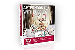 Over 320 afternoon tea experiences with bubbles Enjoy this quintessential British tradition with the added sparkle of fizz included Available at a range of hotels, tea rooms, country manors and restaurants across the UK An ideal gift choice for those...