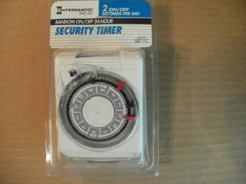 Intermatic time all Random on/off 24 hour security timer