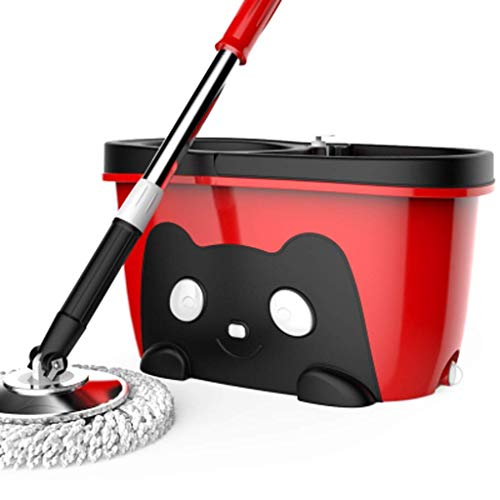 Magic Mop Bucket Rotary Double Drive Hand 360 Spinning Mop Bucket Mop Microfibra Spinning Floor Fregona de Limpieza