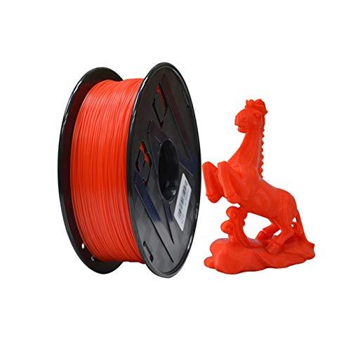 YANGDONG Roter PLA-Kabel, 1kg 3D-Drucker-Lichtdraht, 1,75 Mm +/- 0,02 Mm, Für FMD-3D-Drucker- Und Druckstift, Verlustmaterial