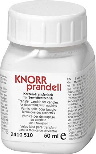 KnorrPrandell 2410510 Kerzen Transferlack, 50 ml