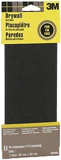 3M 9089NA Drywall Sanding Screen, 4 3/16in x 11 1/4 in, 2-Sheet Fine-Grit