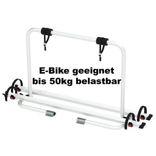 CAGO Fahrradträger Deichsel Träger XL ALU 2 Fahrräder Bike Wohnwagen bis 50kg
