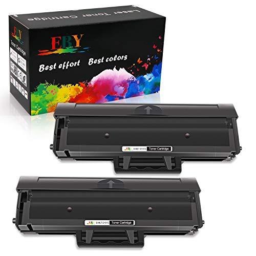 EBY MLT-D101S Toner Cartuccia Compatibile per Samsung MLT-D101 MLT D101S con Samsung Xpress ML-2160 ML-2161 ML-2165 ML-2162 ML-2165W ML-2168 SCX-3400 SCX-3400F SCX-3401 SCX-3405 (2 Nero)