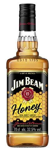 Jim Beam Honey - Bourbon Whiskey mit Honig-Likör, intensiver und süßer Geschmack, 32.5{7b8a4ffe68fa72adf239585582793cd3833c67583deb4445b9fac1c54181df1a} Vol, 1 x 0,7l