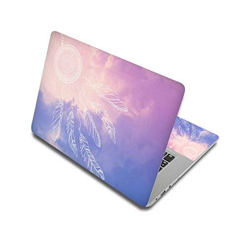 Adesivi per laptop da 15 pollici Notebook Sticker 14' 12' 17' 15.6' PC Skin per Xiaomi mi pro 13.3/asus/MacBook air 13/acer/hp/Lenovo-Laptop Skin 5-15' (38x27cm)