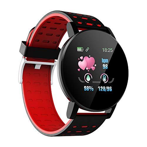 Docooler Smartwatch, 1.3 Zoll Fitness Armbanduhr mit Herzfrequenz, IP68 Wasserdicht Sportuhr mit Schrittzähler,Schlafmonitor,Stoppuhr für Damen Herren