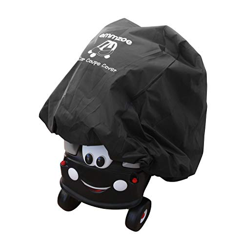 Emmzoe Ride-On Car Coupe Cover for Kids Car Coupes - Universal Fit, Water Resistant, UV Rain Snow Protection