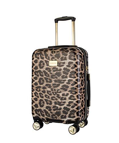 Koffer Reisekoffer Hartschalen Trolly Puccini® Beverly Hills (Leopard Beige 6, Kabinenkoffer)