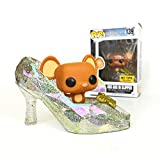 Funko Pop Movies : Cinderella - Gus Gus in Slipper (Hot Topic Exclusive) 3.75inch Vinyl Gift for Anime Fans SuperCollection