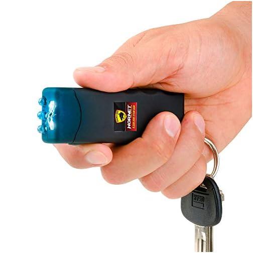 Guard Dog Security Hornet World's Smallest Stun Gun Keychain with Mini LED Flashlight – Mini Stun Gun – Personal Defense… 3