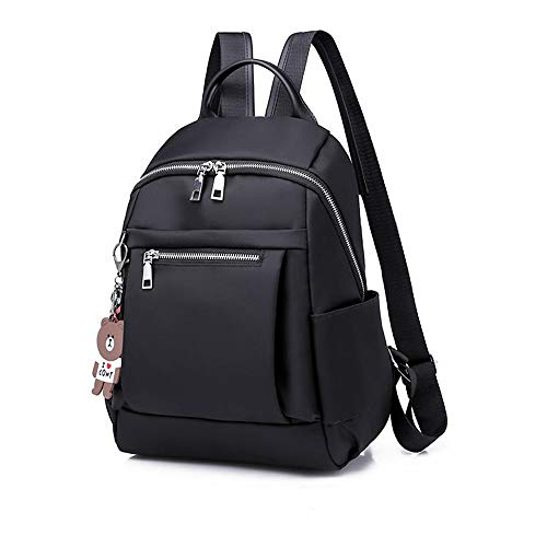 Travel Laptop Backpack Backpack Women's Oxford Cloth Fashion Large-capacity Backpack Casual All-match Canvas Nylon Small Bag School Bag Women's Casual Diagonal Bag Shoulder Bag