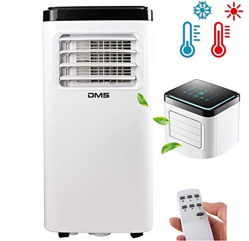 DMS 4 in 1 Condizionatore portatile   Climatizzatore   Riscaldamento   Ventilatore   Deumidificatore   stanze fino a 35 m2   Telecomando   Timer 24h   Modalità Notturna   8000 BTU/h   2000 Watt
