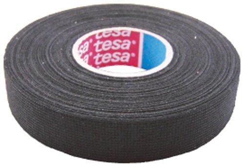 TESA 51608-00001-00 Gewebeband PET-Vlies 51608 Isolierband für Kabelbäume Baumwolle Klebeband (19mm x 25m)