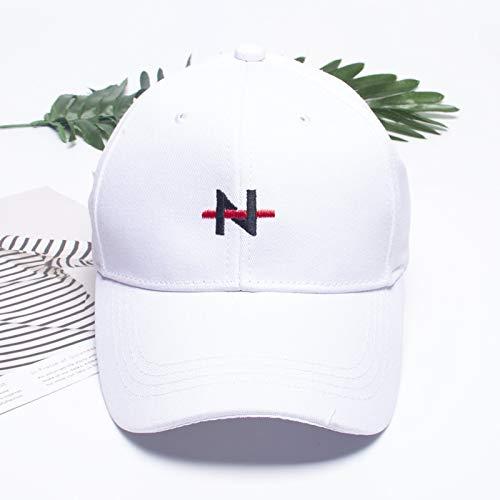 Modeartikel - Hut-Sommer koreanische Trendige Schirmmützen Wilde Mode Trend Baseballmütze Jungen Mädchen weiß lila Hut Frauen