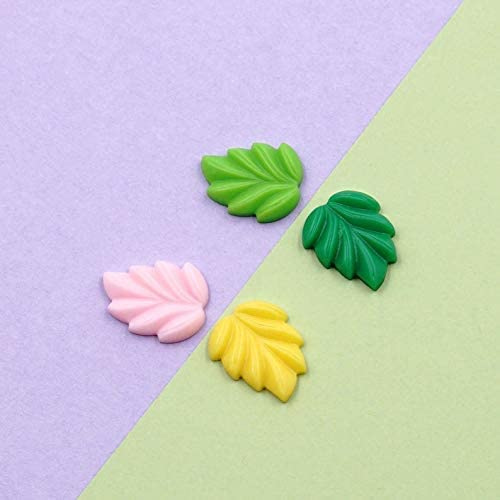 Leaves Resin Slime Charms NVT or Scrapbook Ornament San Francisco Mall Max 46% OFF cabochons