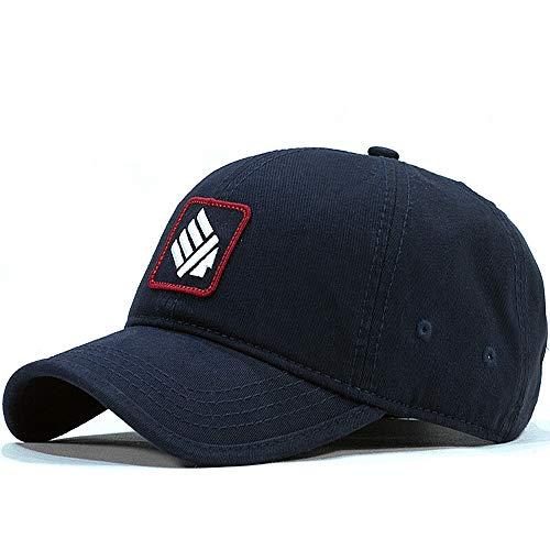 Yjdr Gorra de béisbol clásico sombrero del papá, 100% algodón suave de medida adaptable, sombrero gorra de béisbol lavada cápsula de la manera Pico Hembra ocasional de Sun del verano Sombrero Negro aj