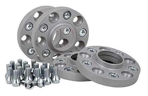 Spurverbreiterung Aluminium 4 Stück (20 mm pro Scheibe / 40 mm pro Achse) inkl. TÜV-Teilegutachten & ABE~