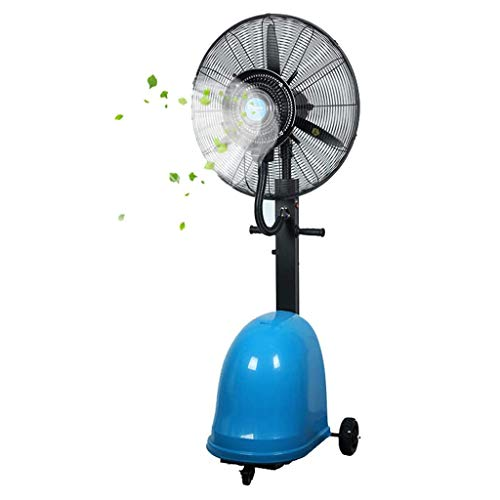 Review atomization fan Vertical Vibration Factory Fan Industrial Blower Big Fan Mist Fan Large Cold ...