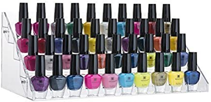 featured product Nail Polish Orgenizer Acrylic 5 Step Counter Display Nail Polish Orgenizer