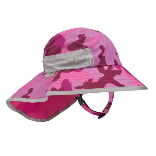 Sunday Afternoons Kids' Play Hat Pink Camo