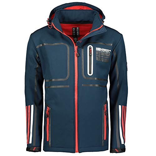 Geographical Norway Softshell Jacke Romain Navy XXL