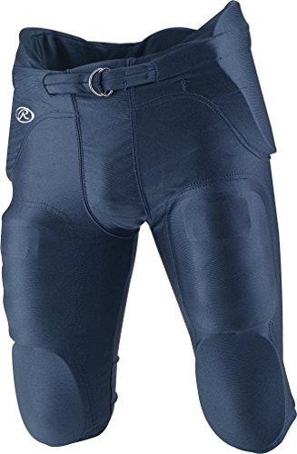 RAWLINGS f4500p Erwachsene integrierter Football Pants, Damen, F4500P-N-87, Navy, xs