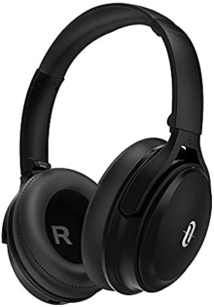 Noise Cancelling Bluetooth Headphones, TaoTronics Active Noise Cancelling Wireless Over ear Headphones with High Clarity Sound Powerful Bass, 30 Hour playtime for Travel Work TV PC Cellphone