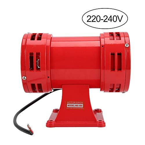 Bocina de Alarma de 150dB Tweeter, 110V / 220-240V Seguridad Industrial Sirena...