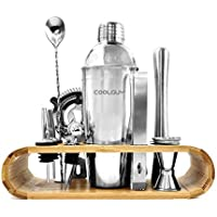 Coolguy 14-Piece Bartender Kit with Stand