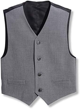 Calvin Klein Boys Big Formal Suit Vest Oxford Grey 10 12 product image