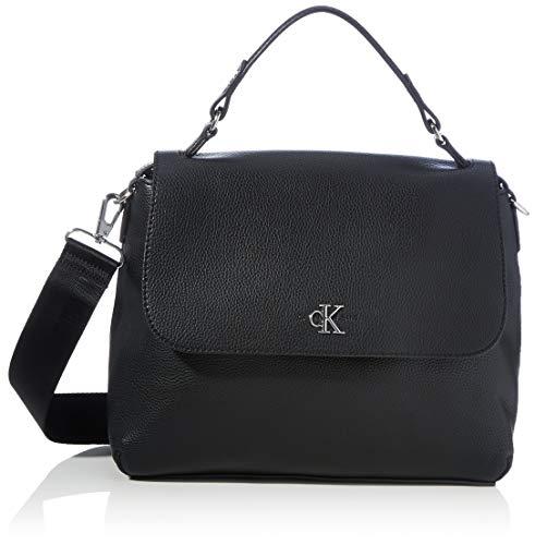 Calvin Klein Satchels, Borse Donna, Nero, One Size