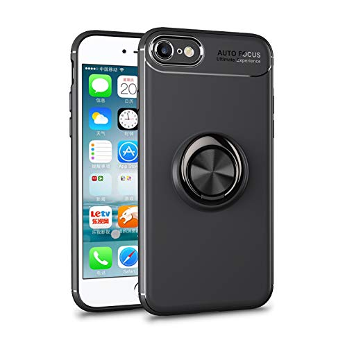 ORIbox Ring Kickstand Phone Case for iPhone SE 2020