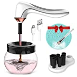 Hangsun Makeup Brush Cleaner and Dryer Machine Electric Make Up Brushes Washing Tools BC200 with 3 Adjustable Speeds - USB Rechargeable, No Batteries Needed