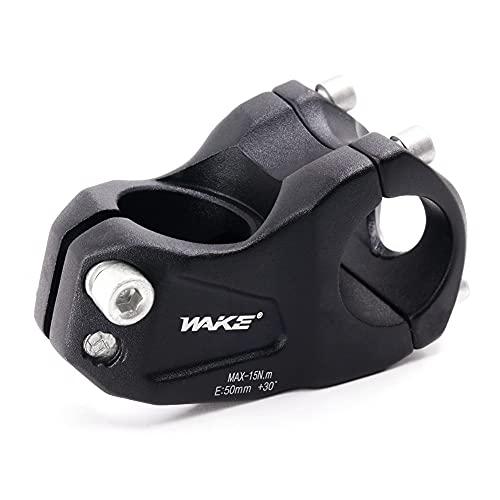 GoHZQ Bike Verstellbarer Vorbau ± 30 ° Grad 31,8 50 mm Fahrrad Lenkervorbau Aluminiumlegierung Mountainbike Lenkerschaft für Fahrrad, Rennrad, MTB, BMX, Radfahren