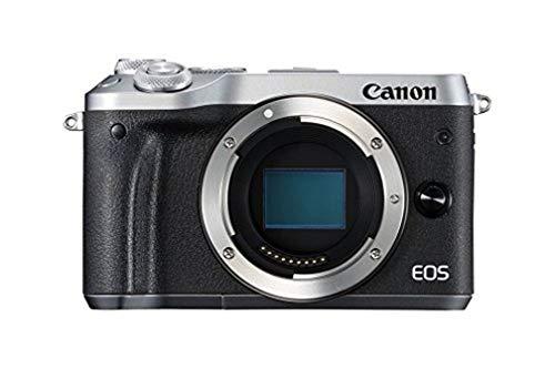 Canon EOS M6 Fotocamera Digitale, Argento