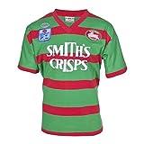 YINTE 1989 Retro South Sydney Rabbitohs Coupe du Monde Jersey De Rugby, 9s Fans T-Shirts T-Shirts À Manches Courtes Sportswear Polo Chemise, T-Shirt Graphique en Jersey en 1989-S