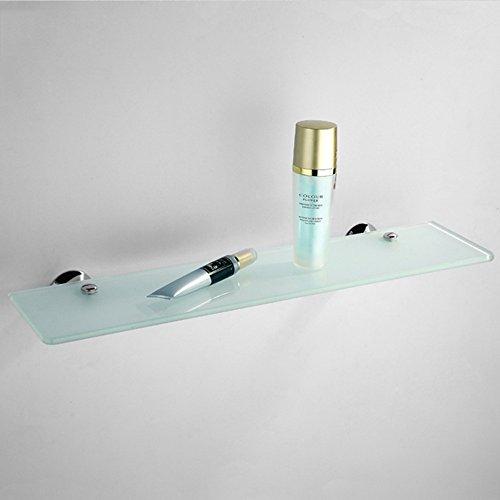 Weq badkamer hardware hanger enkele - laag glas plank badkamer spiegel dressoir spiegel voor de plank