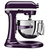 KitchenAid Professional 600 Series KP26M1XER Bowl-Lift Stand Mixer, 6 Quart, Purple Plumberry