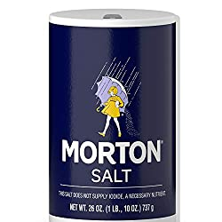 container of Morton Salt, Save Money for Travel - Cheap Cabbage, www.theeducationaltourist.com
