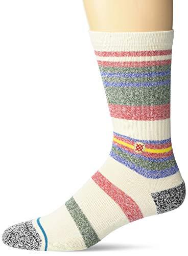Stance Crew Sock Munga ST Calcetines, Natural, M para Hombre