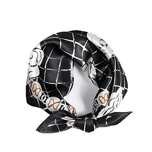 WRF Pañuelos de seda multifuncionales, Diademas, Pañuelos y pañuelos de mujer, pañuelos de hombre, Bufanda de bebé 53X53cm