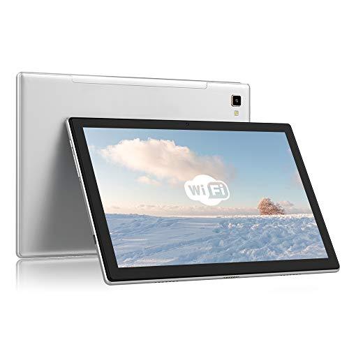 Blackview Tab 8E Tablet 10 pulgadas FHD+(1920 * 1200), batería de 6580mAh, Android10, Octa-Core, 3 GB de RAM + ROM de 32 GB, 128 GB ampliable, cámara de 13MP + 5MP, WIFI 5G + BT5.0, face ID / 2-speaker / OTG / GPS-grey