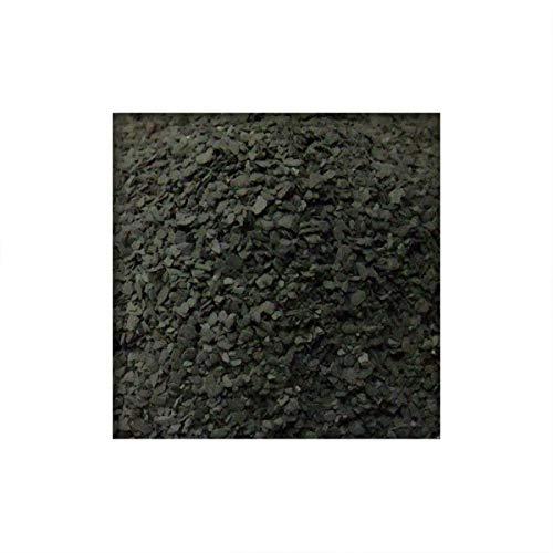 Kieskönig Schiefersplitt Bitumeneinstreu Fugensplitt 0/2 mm für Dachpappe Sanierung 25 kg (Sackware)