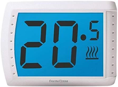 Fantini Cosmi C83 C83-termostato Touchscreen da Parete, Bianco
